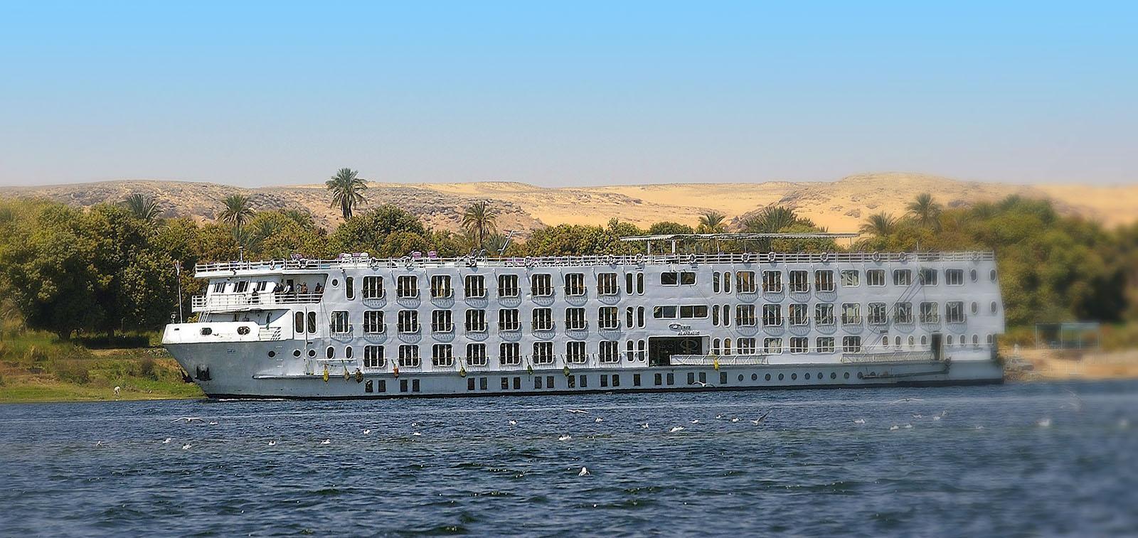 Nilkreuzfahrt und Badeverlängerung 14 Tage
