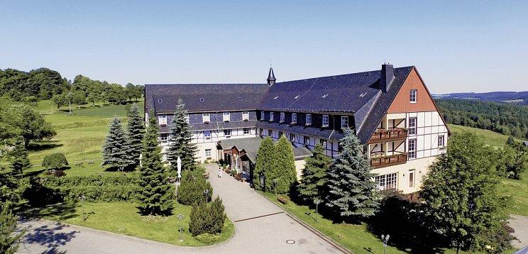Panorama Berghotel Wettiner Höhe Seiffen