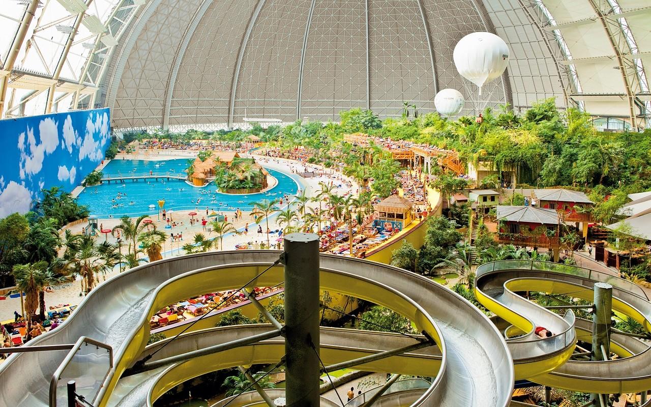 Tropical Island mit 2 Nächte Hotel
