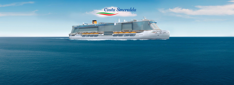 Westliches Mittelmeer mit der neuen Costa Smeralda