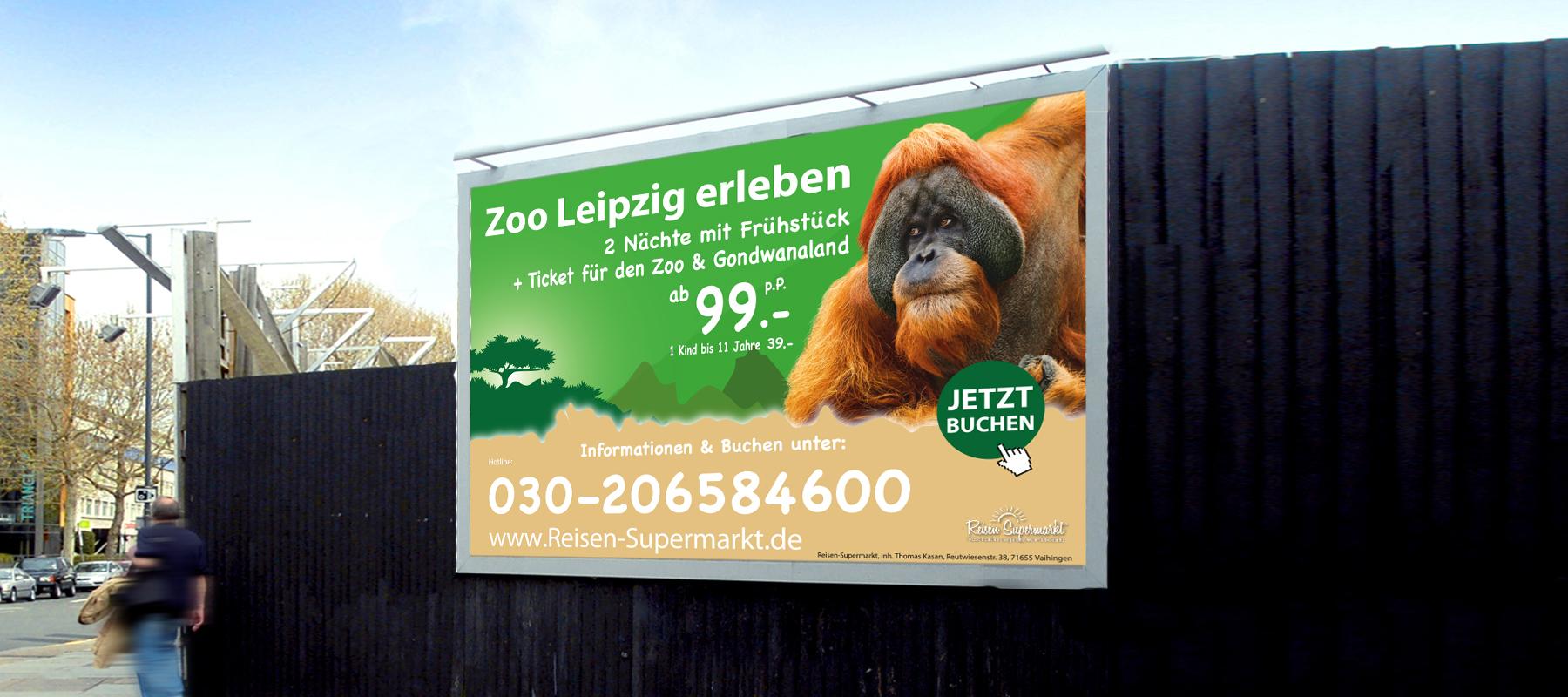 Zoo Leipzig - 2 Nächte mit Tageseintrittskarte
